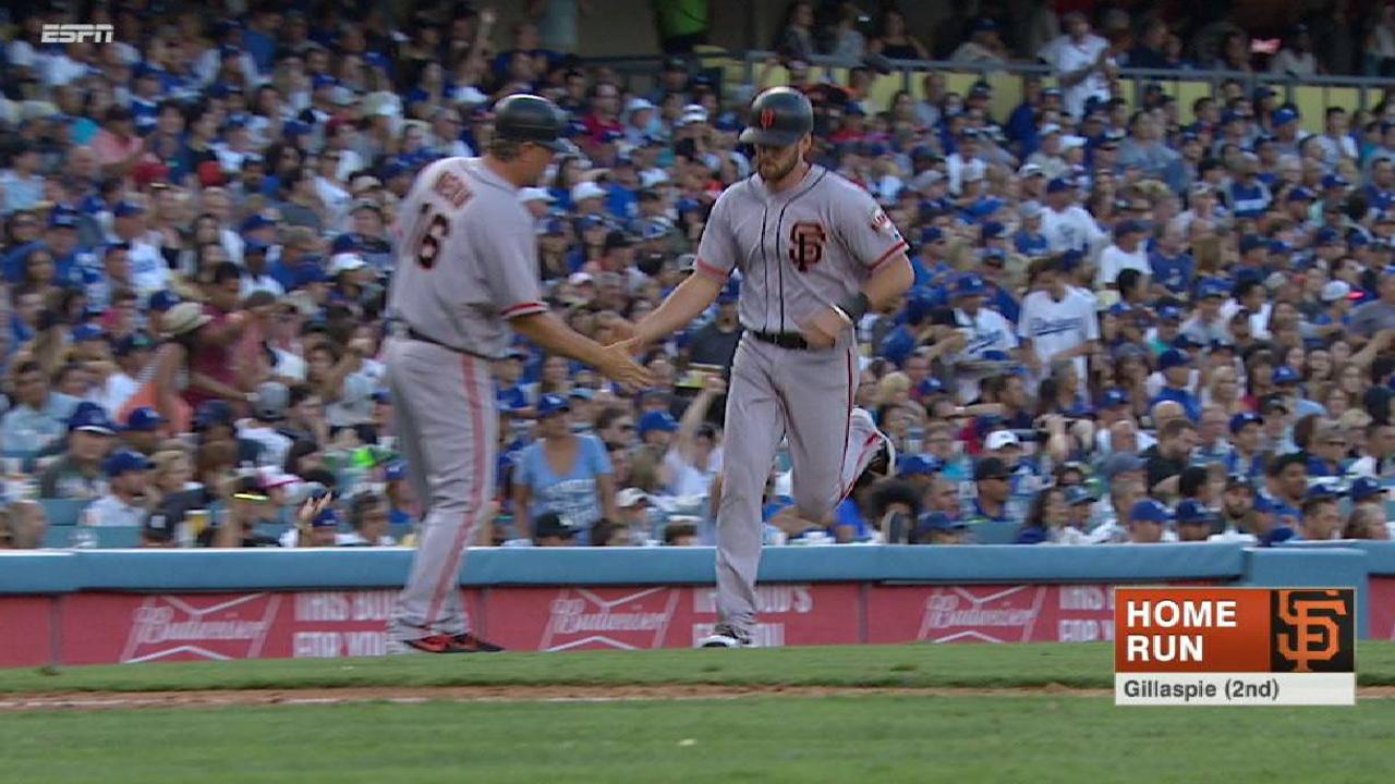 Giants glad to retain Gillaspie in Minors