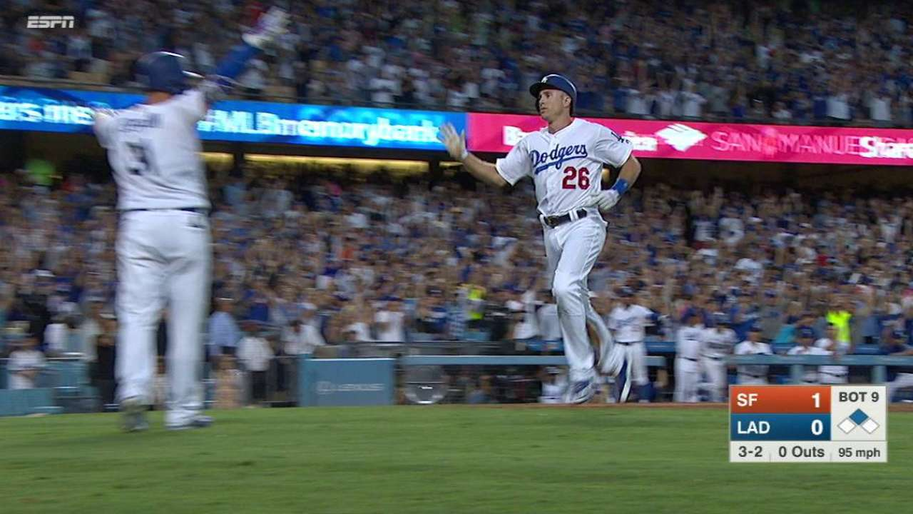Puig's game-tying single in 9th