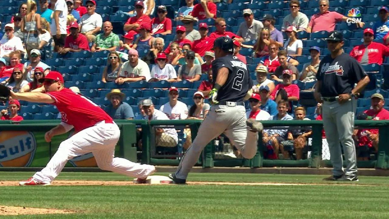 Galvis nabs Johnson, call stands