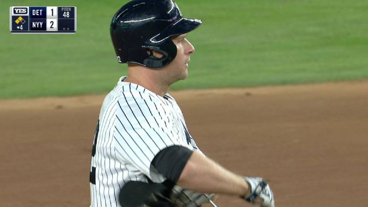 Yankees cap big day with win over Tigers