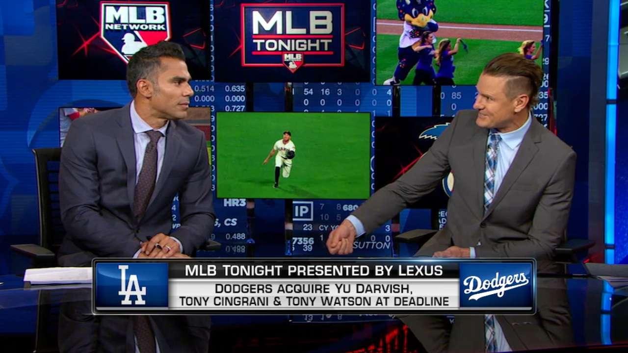 MLB Tonight on Liriano trade