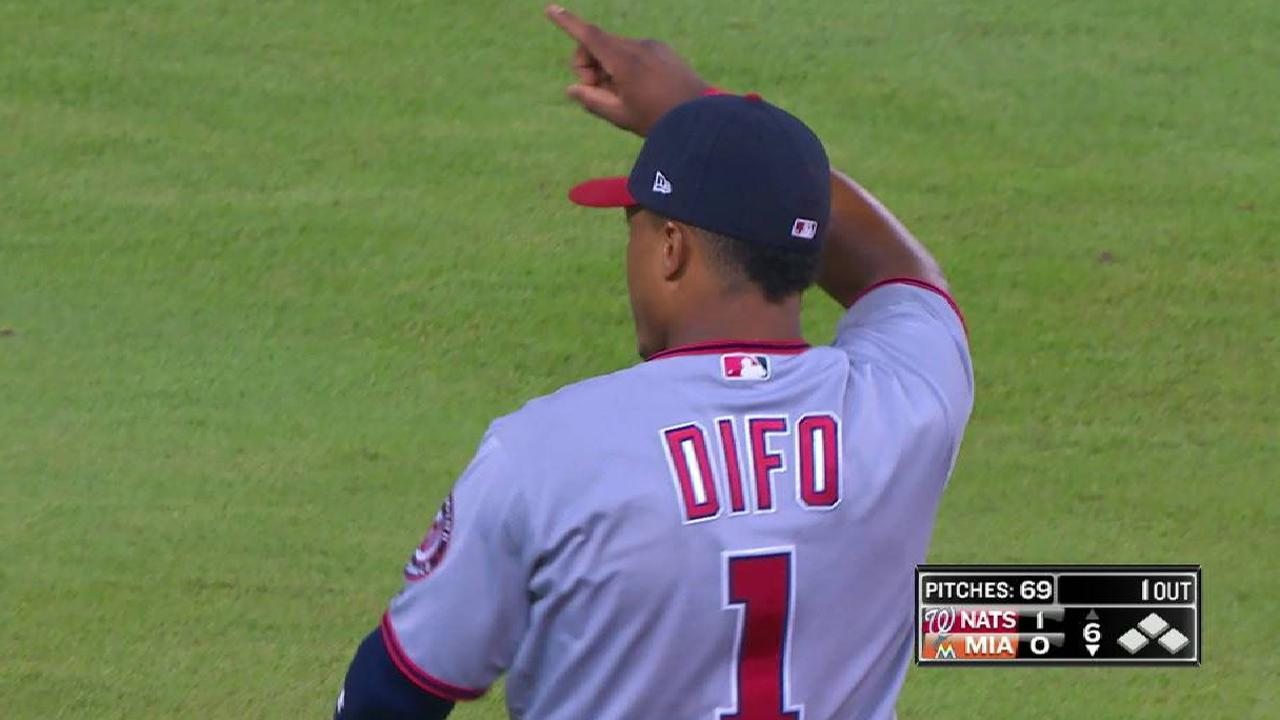 Difo's incredible catch