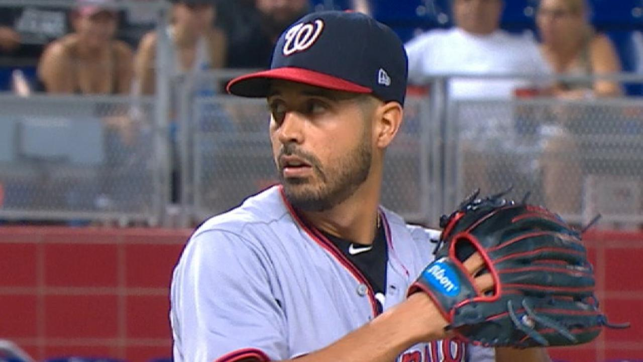 Emotional day nearly ends in no-no for Gio