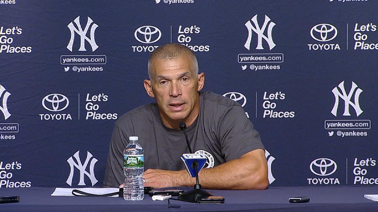 Gray's Yankees debut planned for Thursday