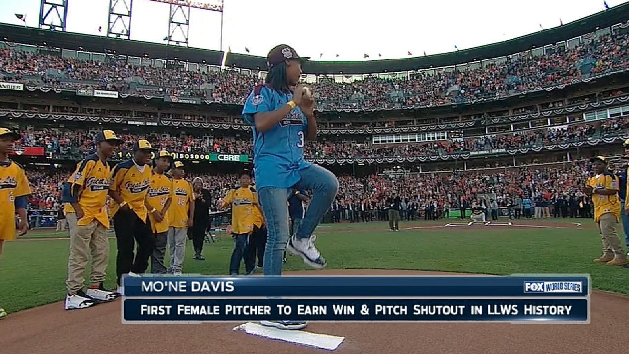 FOX tracks Davis first pitch