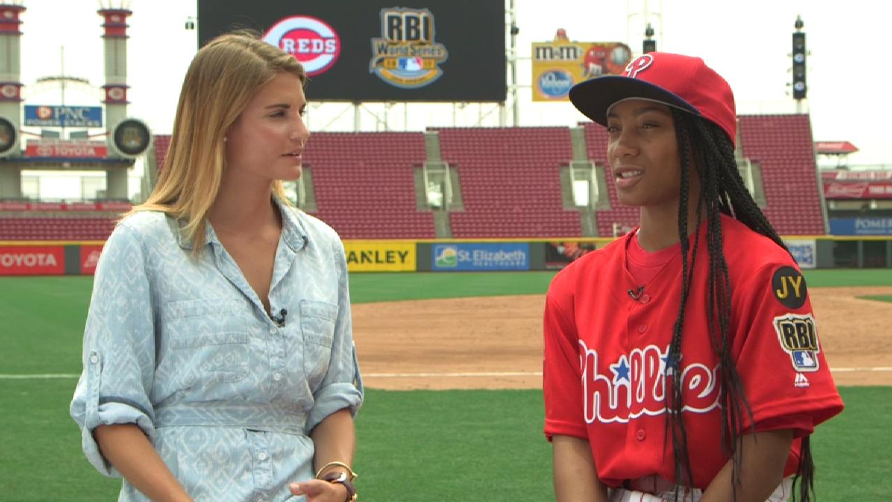 Davis talks RBI World Series
