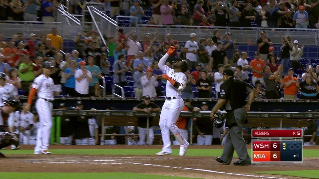 Ozuna's three-run home run