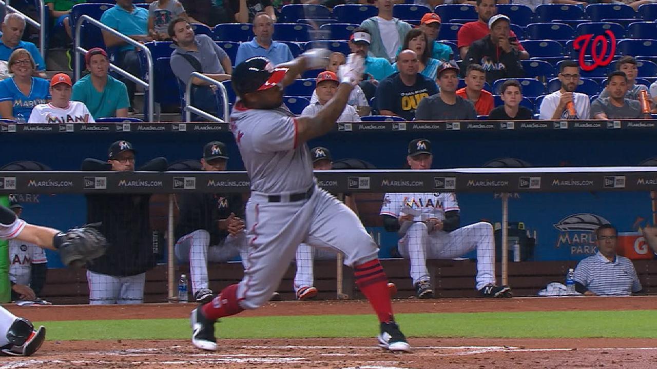 Nationals' six-run 2nd inning