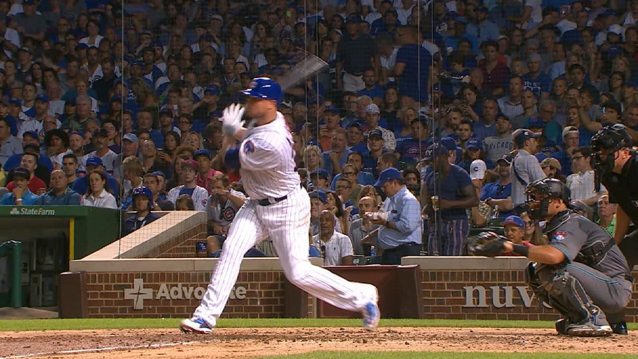 Lester hits first homer, racks up 2,000th K