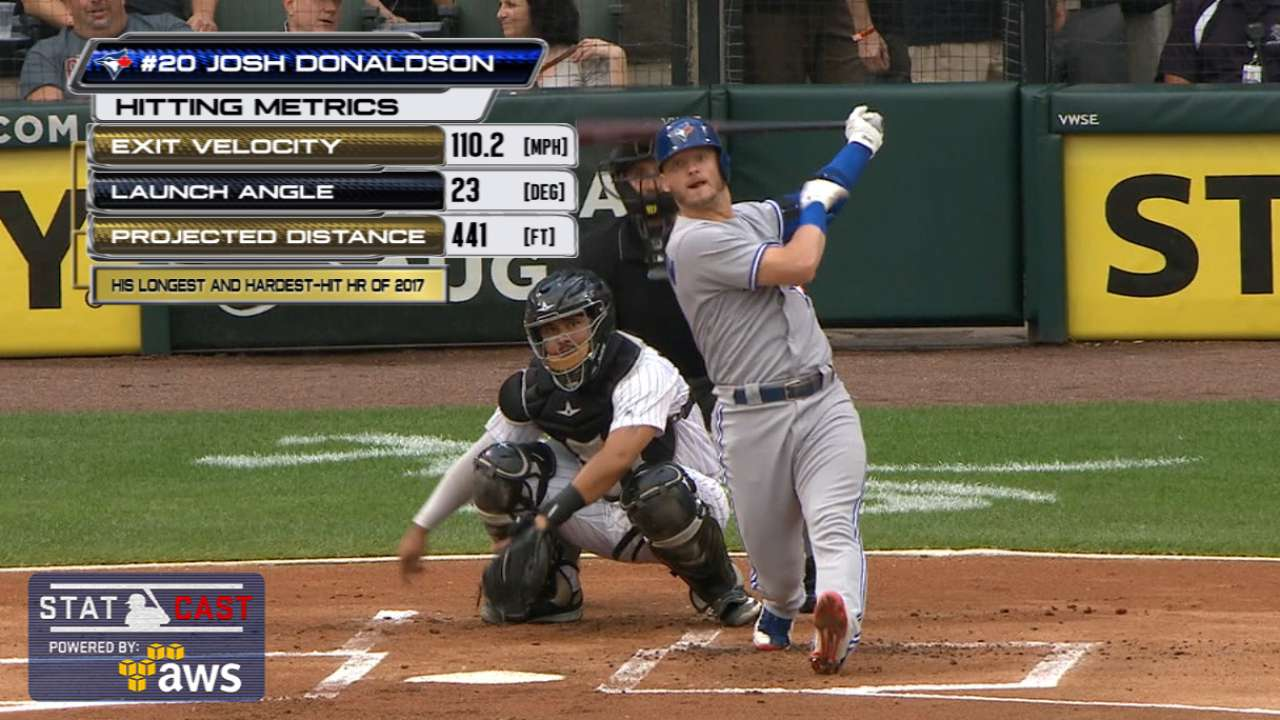 Donaldson powers Blue Jays past White Sox