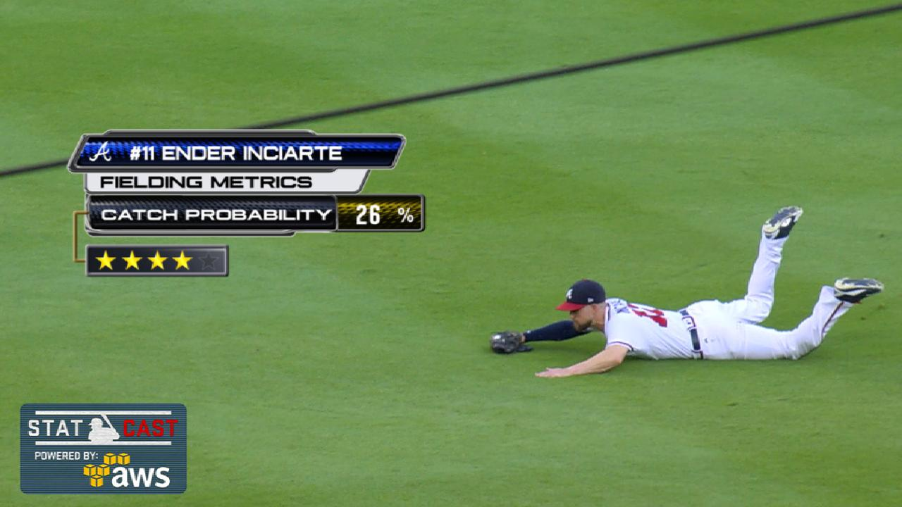 Statcast: Inciarte's diving grab