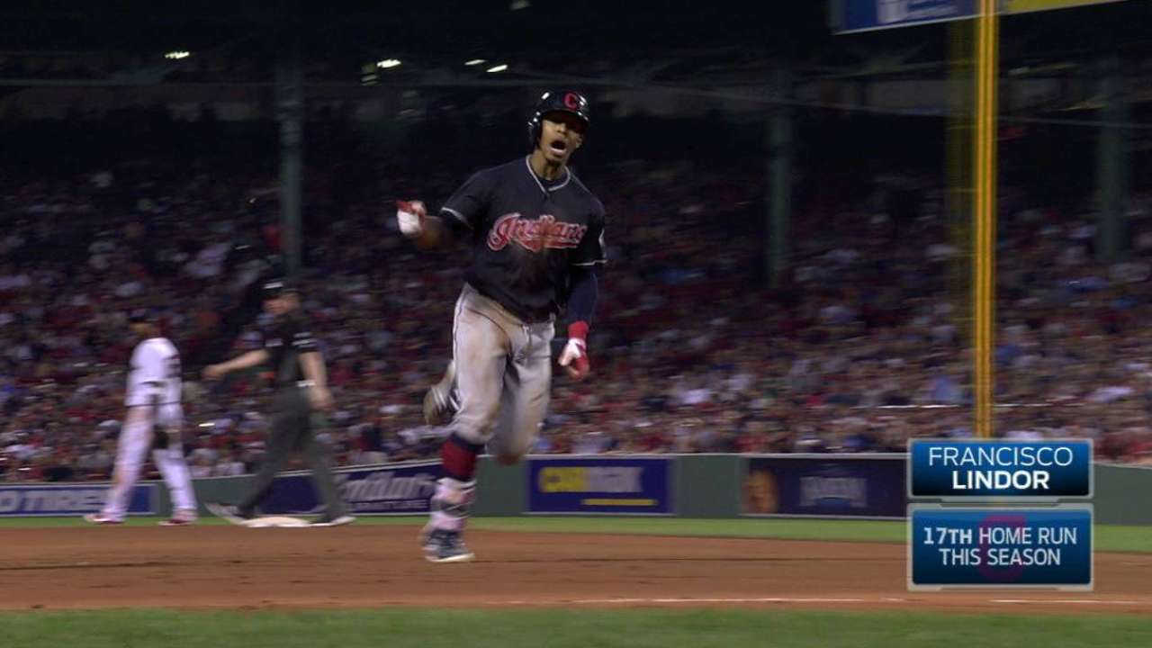 Lindor's game-tying homer