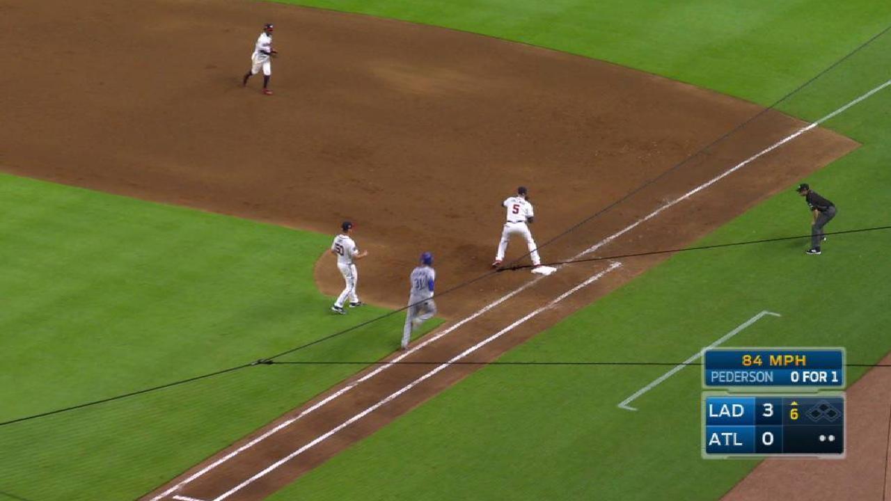 Prospect Albies makes MLB debut for Braves