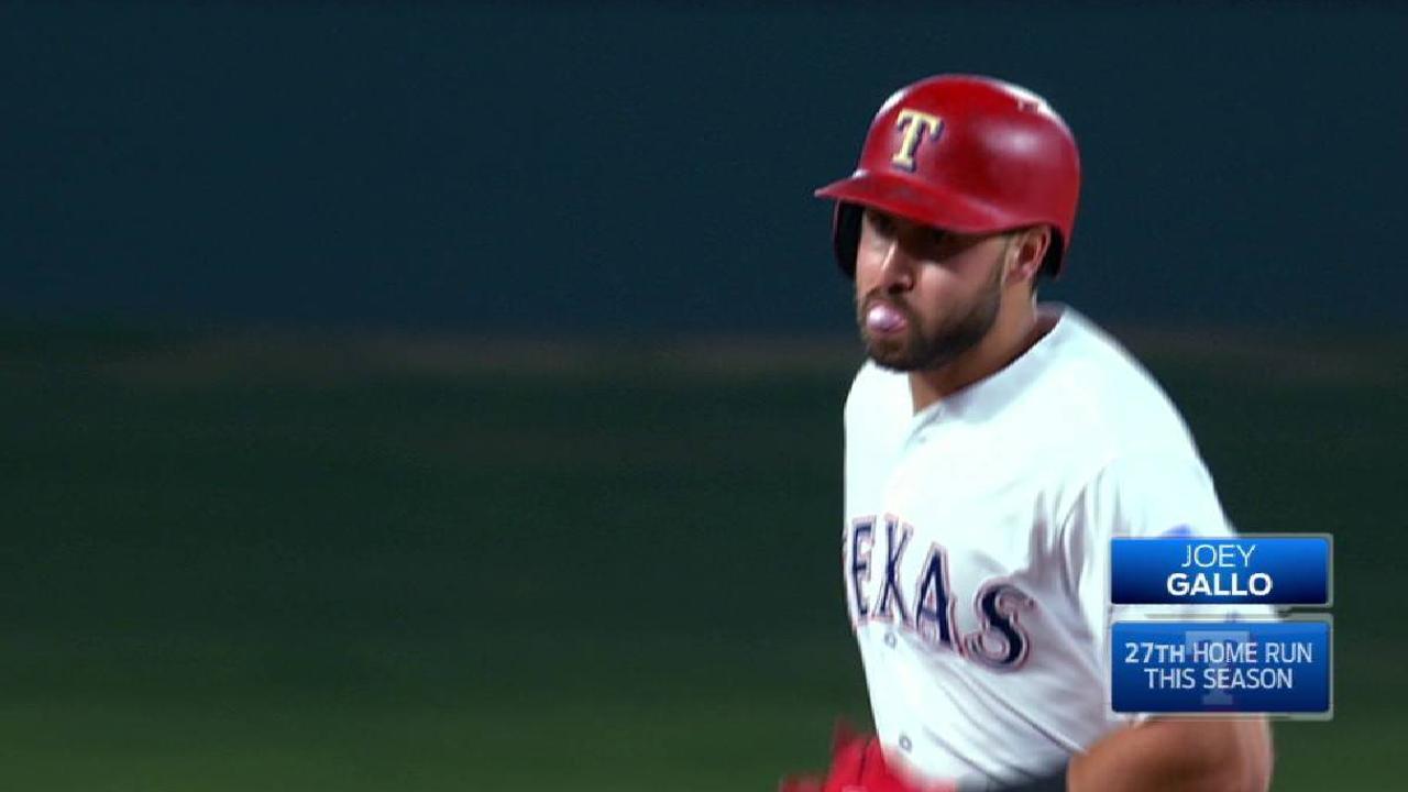 Gallo's three-run home run