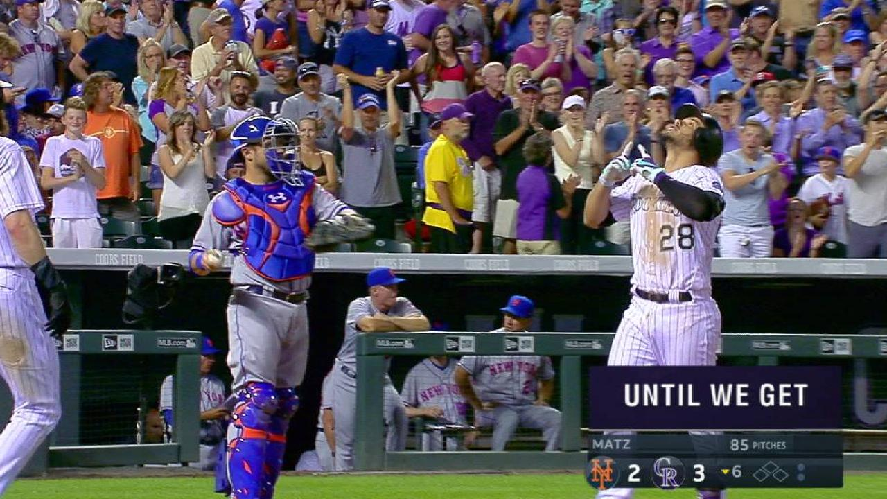 Arenado's three-run jack