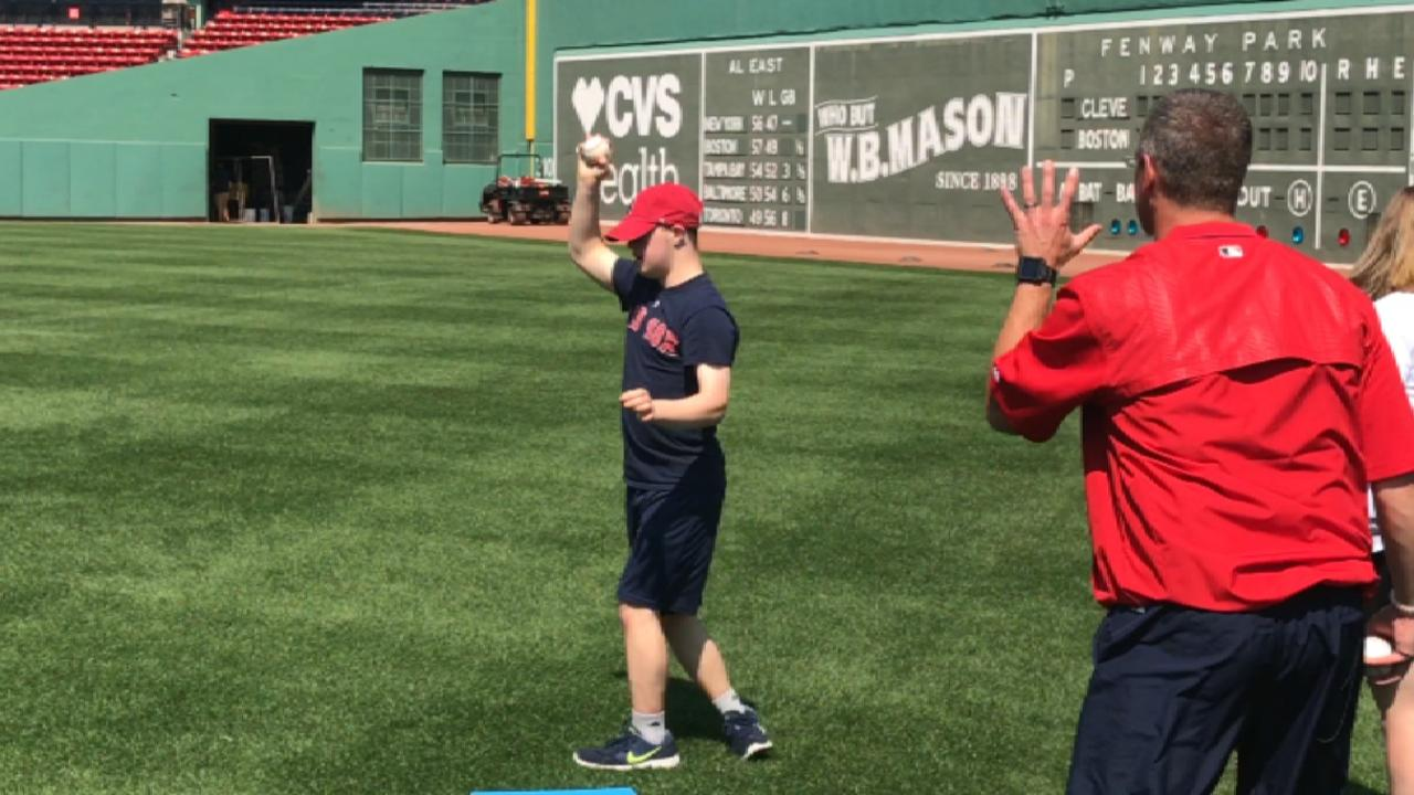 Red Sox host PLAY event at Fenway Park