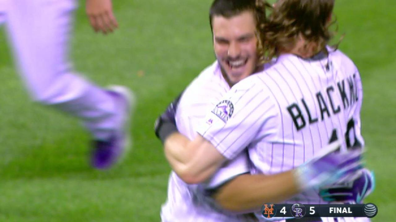 Arenado: 'I want the at-bat' in clutch situations
