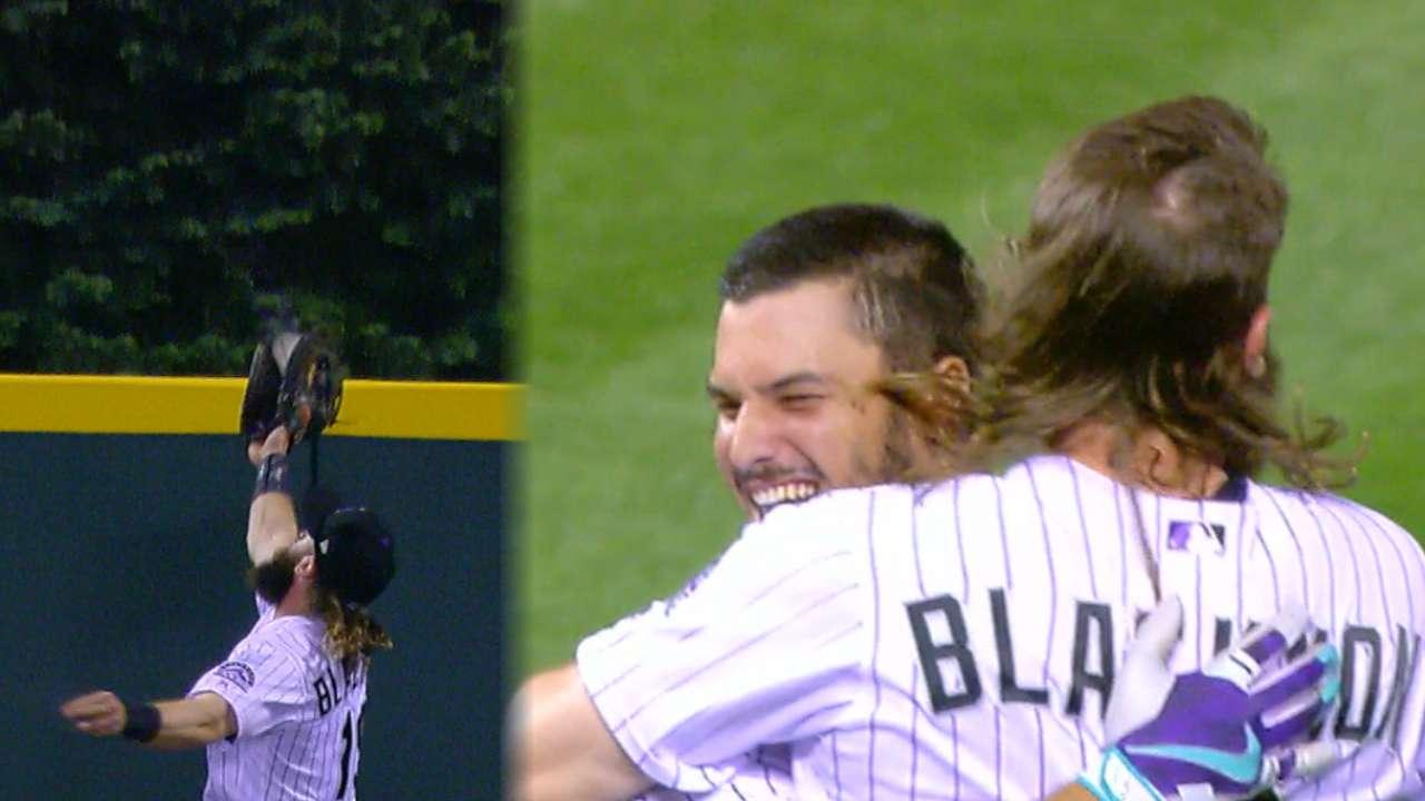 Blackmon, Arenado fuel Rox walk-off win vs. Mets