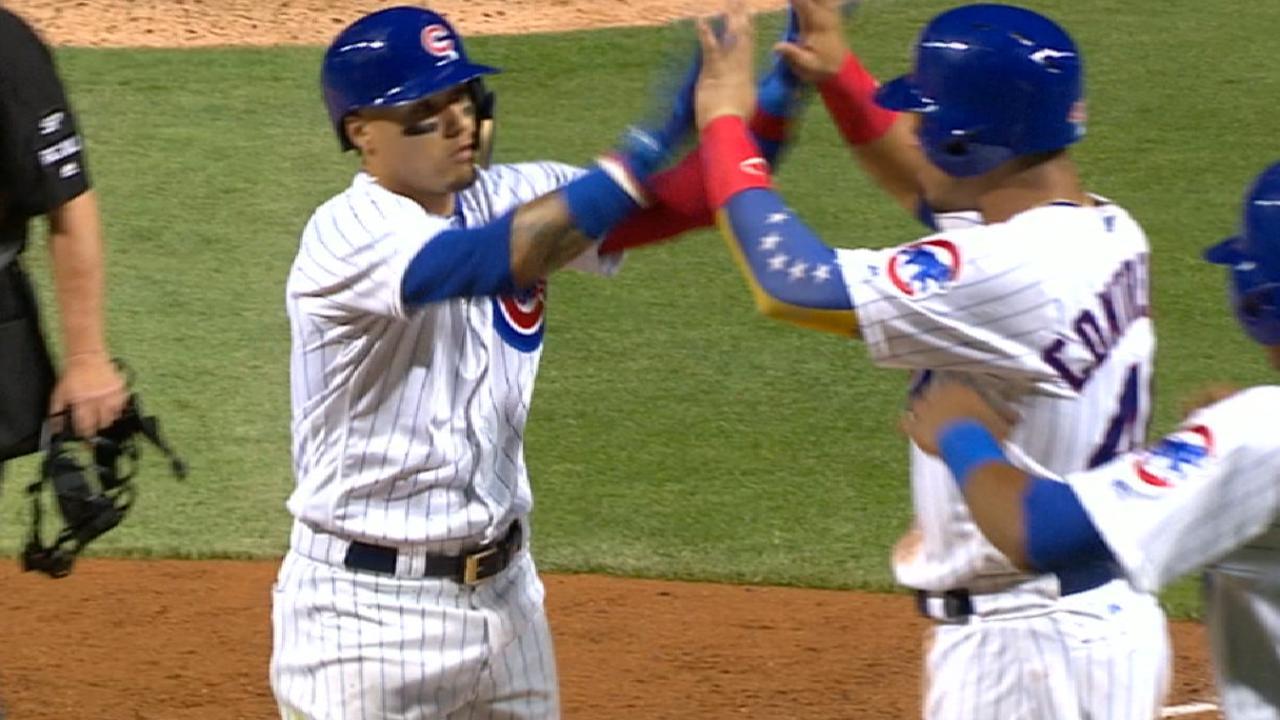 Cubs' seven-run 6th inning