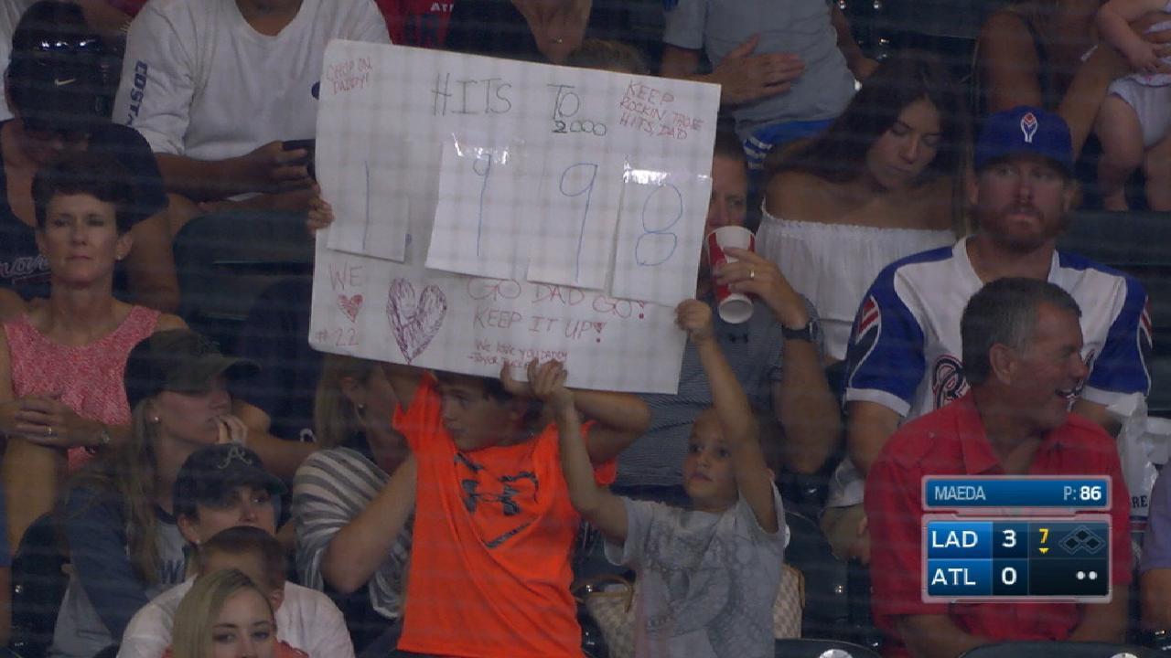 Markakis kids' adorable sign