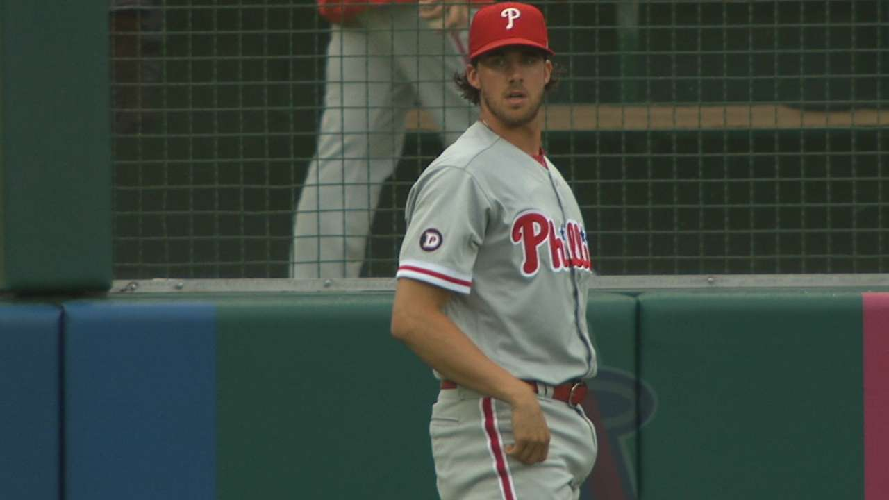 Nola battles to stay on historic roll for Phils