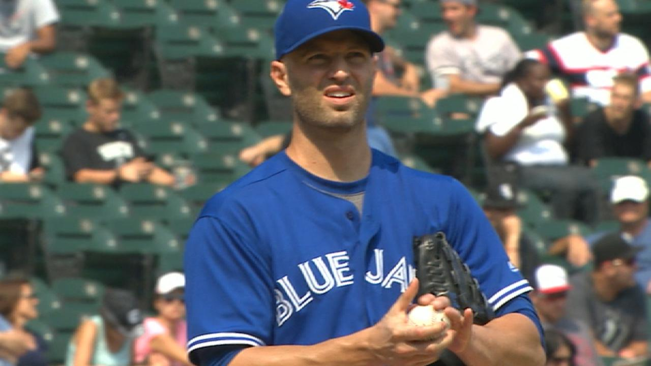 Happ K's 10 to lead Blue Jays over White Sox