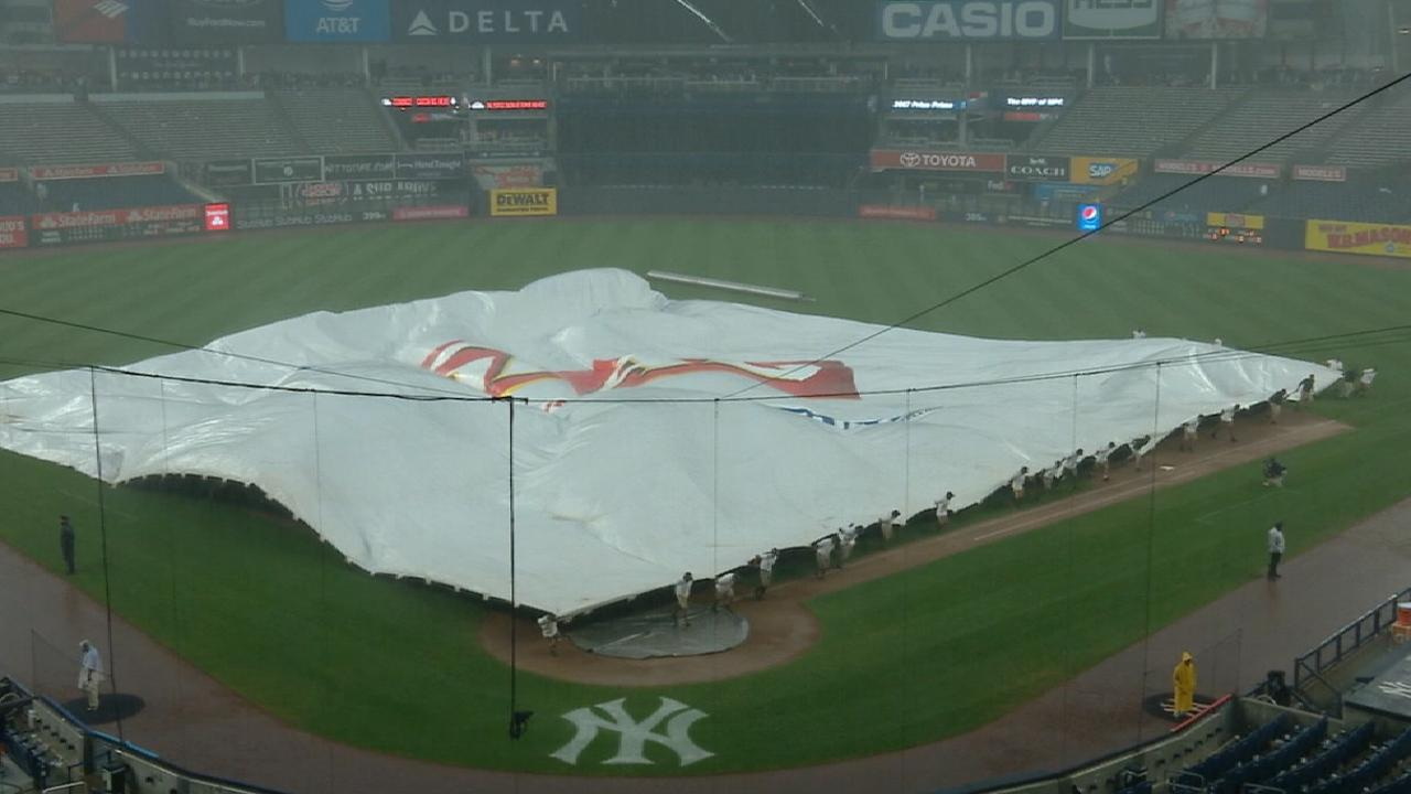Heavy storm causes second delay