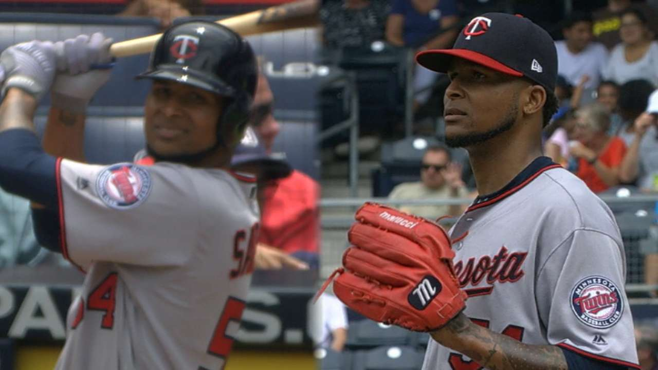 Santana earns complete-game win