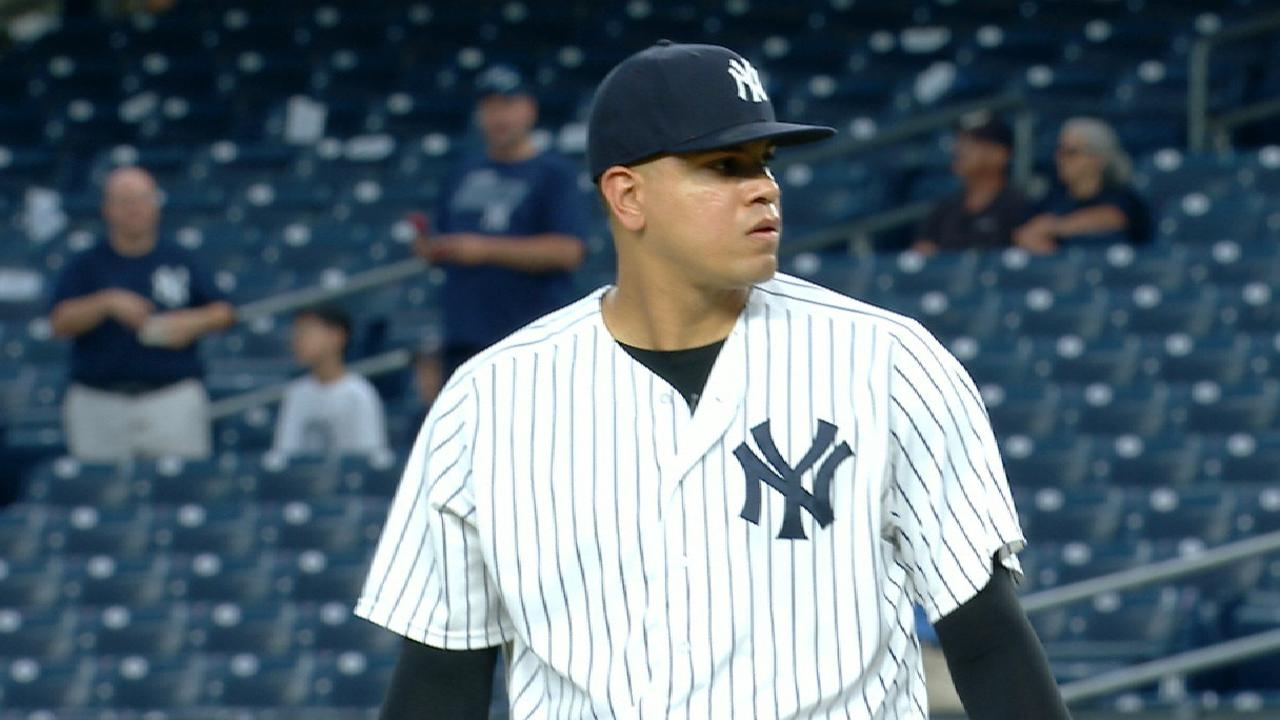 Betances throws immaculate inning vs. Tigers