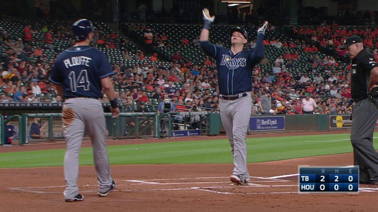 Rays blank Astros in Keuchel's first L since '16