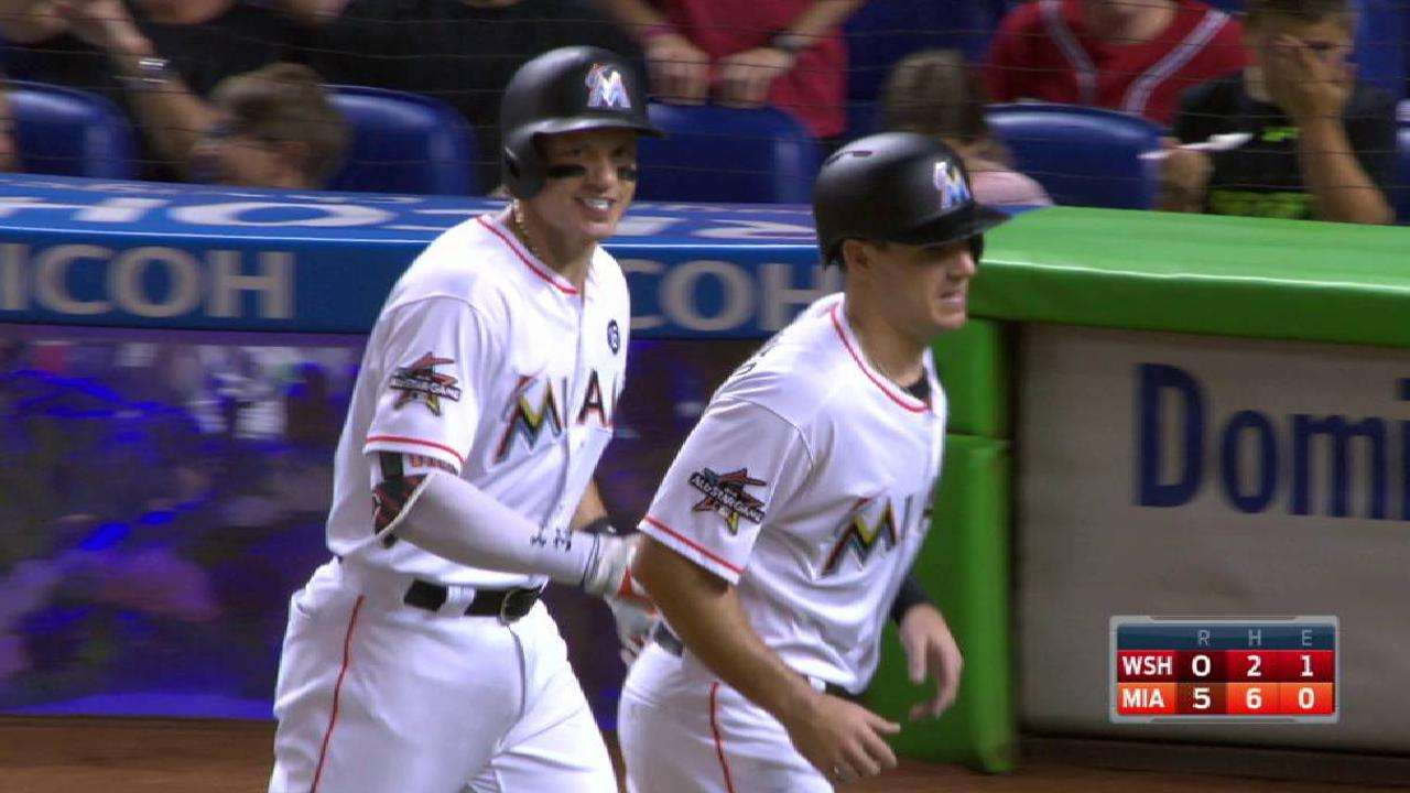 Dietrich's mammoth two-run homer