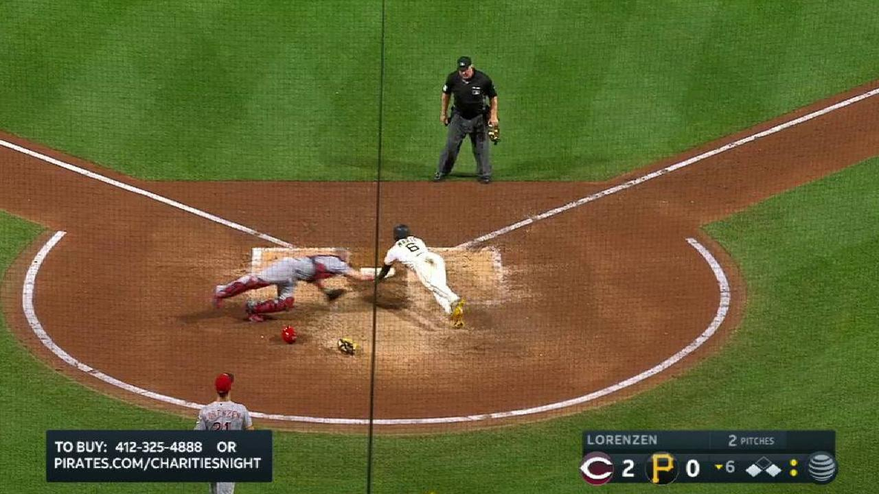Bell's RBI single to center