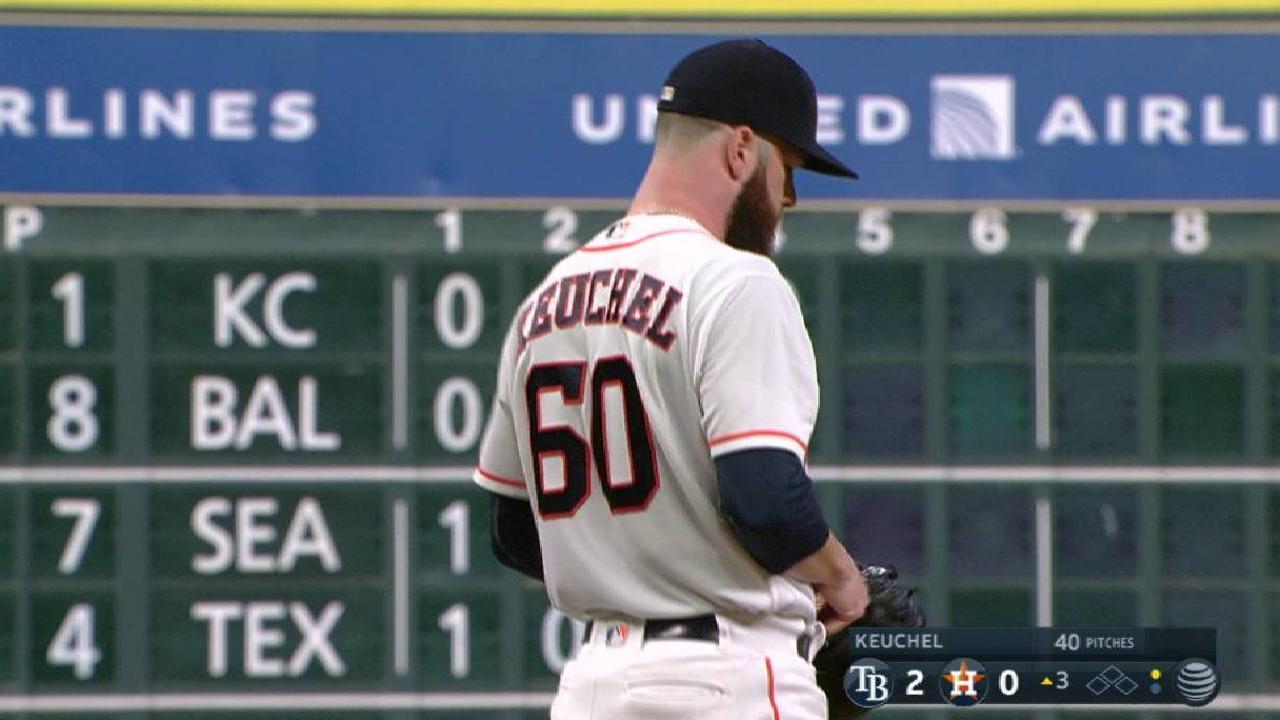 Keuchel, Astros open set vs. sliding White Sox