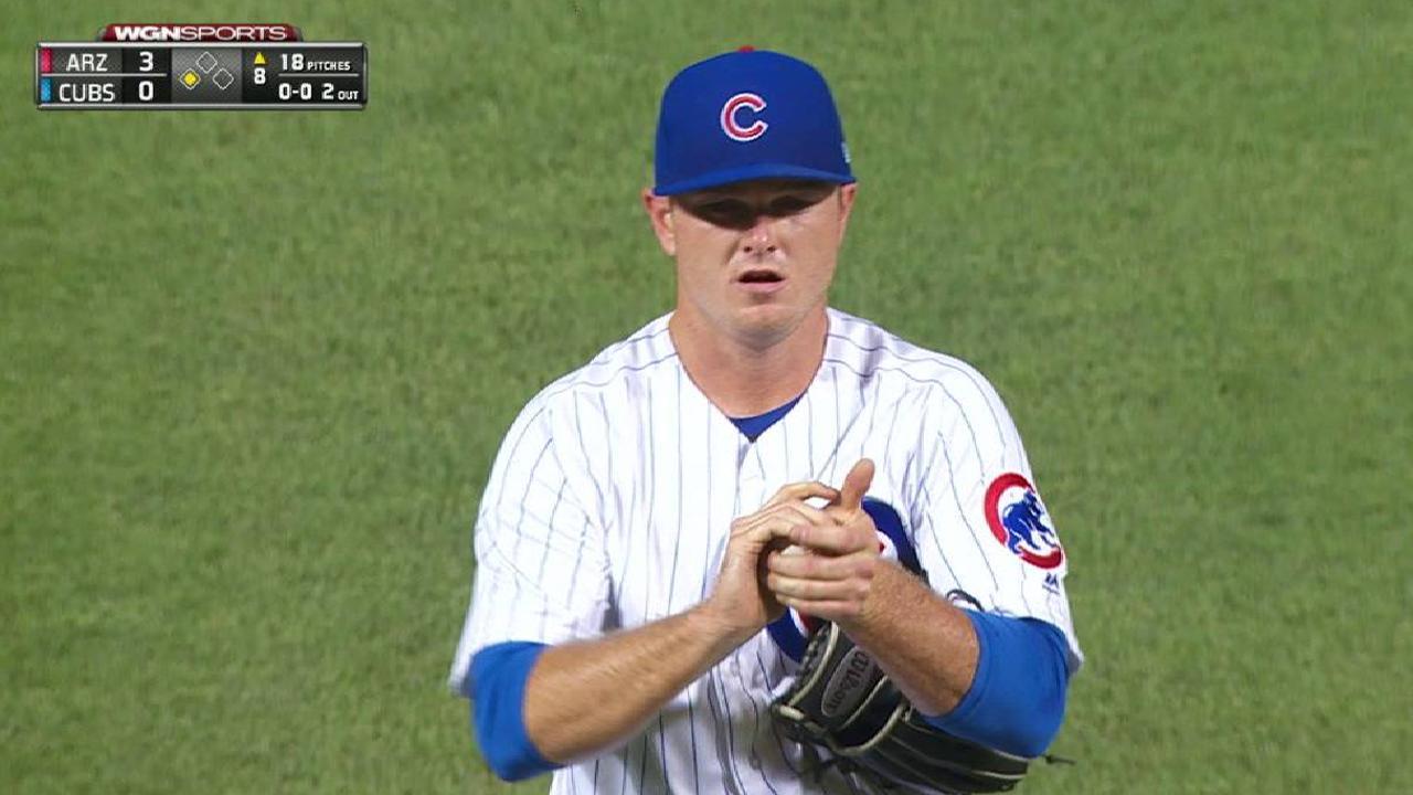 Wilson strikes out Goldschmidt