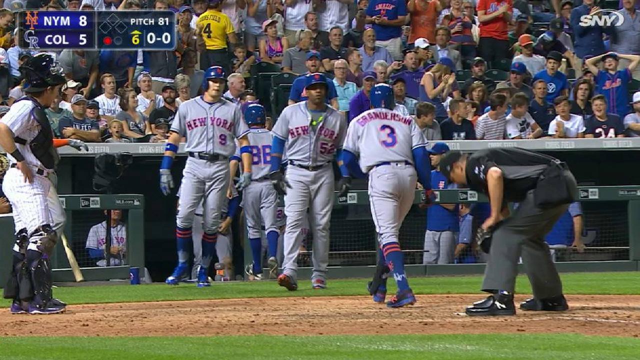 Granderson's three-run homer