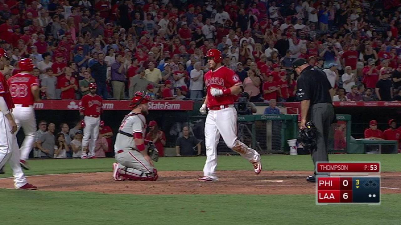 Cron's two-run homer to left