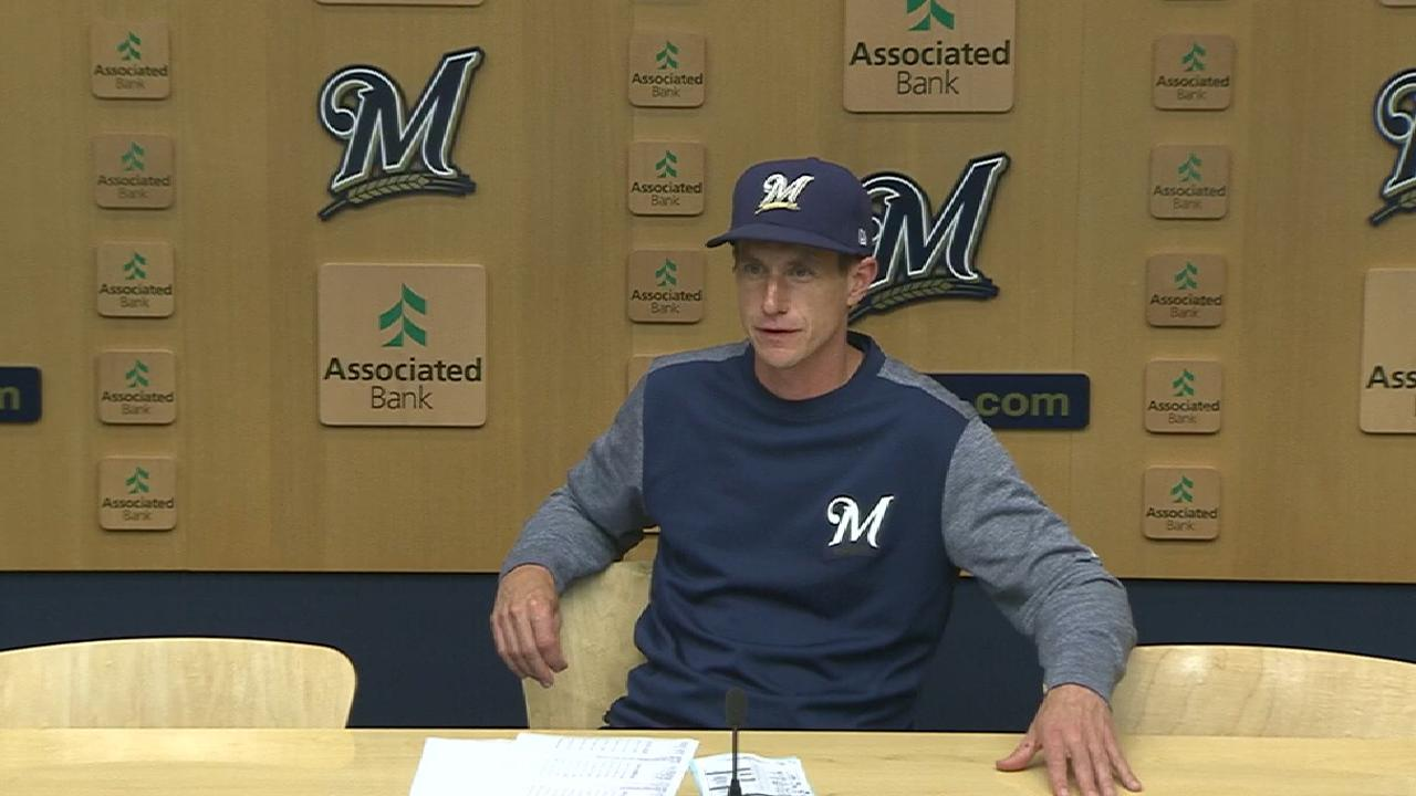 Brewers hoping late life turns RISP fortunes