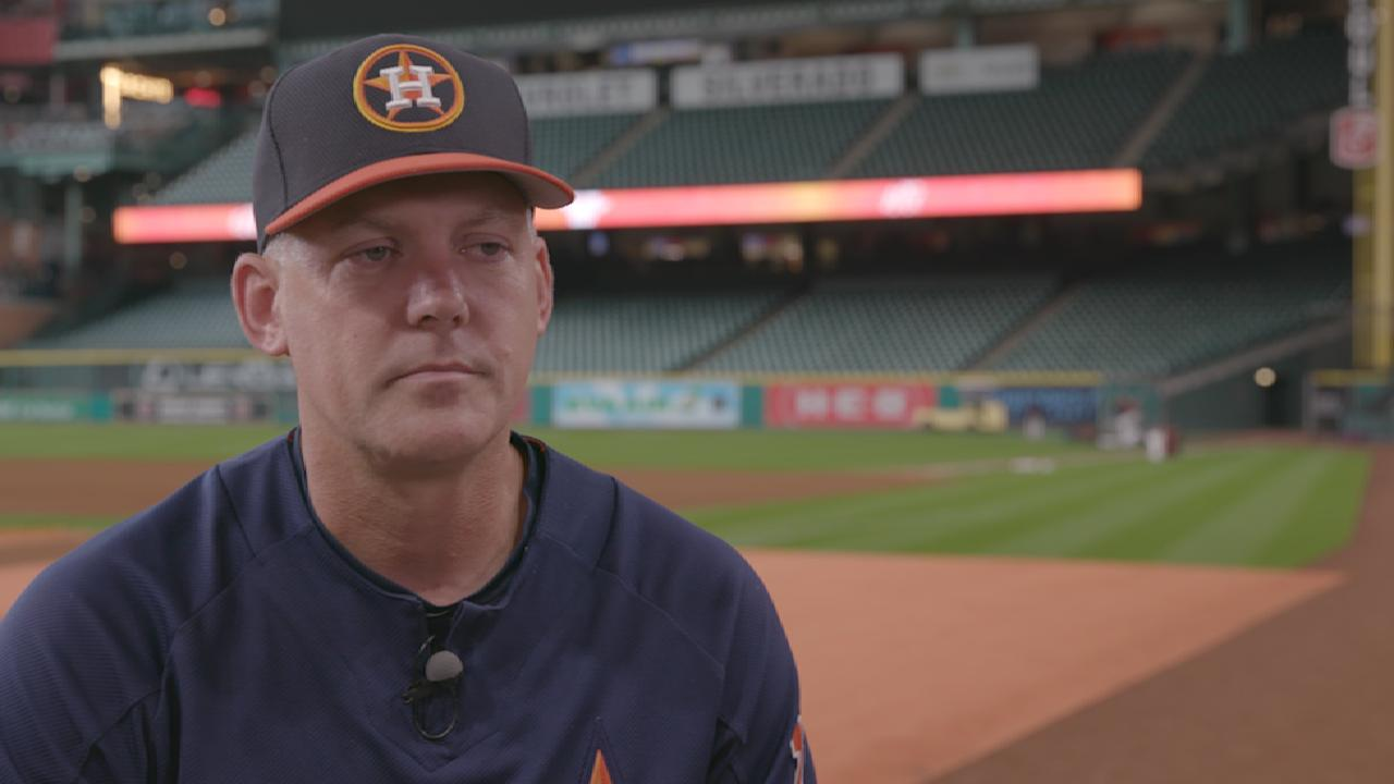 Hinch on the Astros' roster
