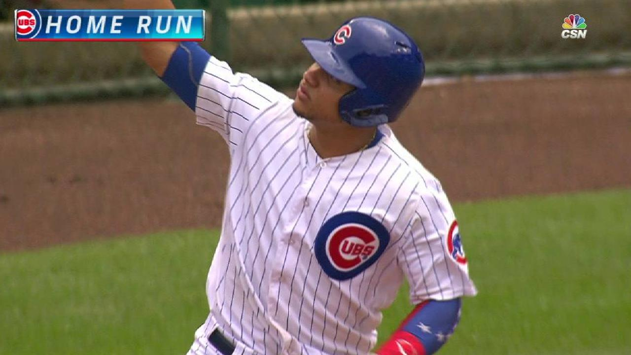Contreras' solo home run