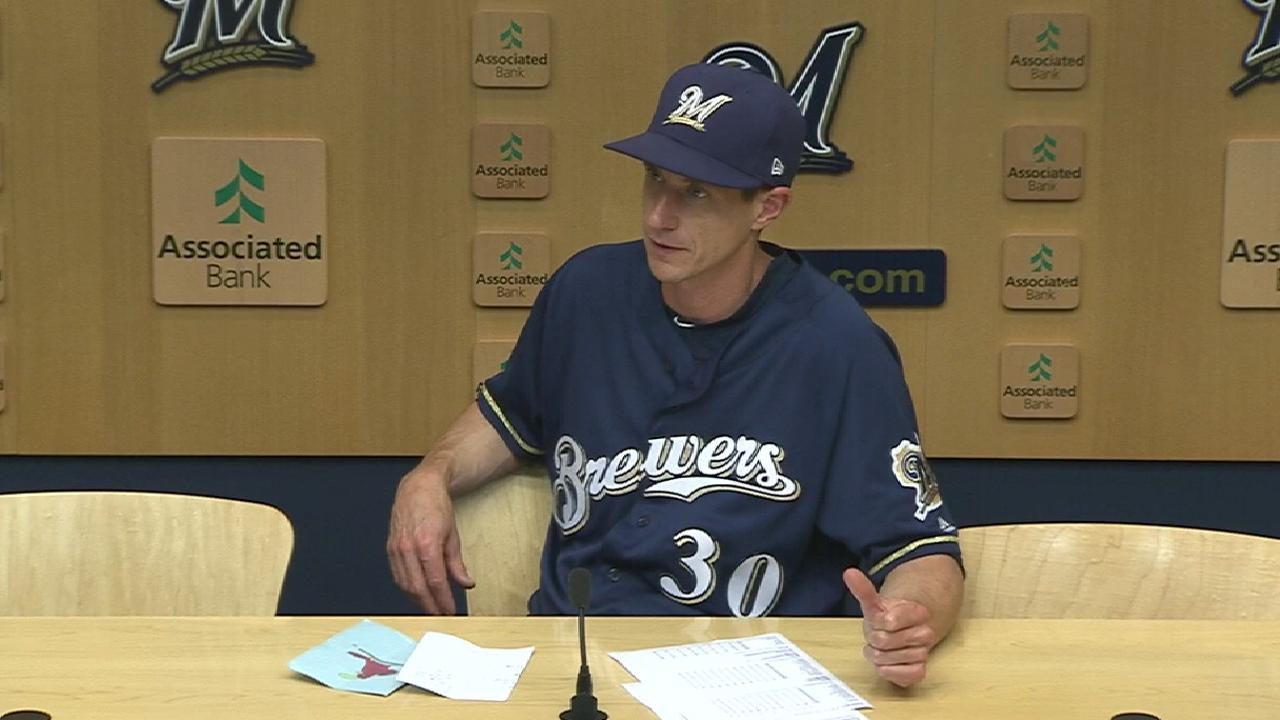 Counsell talks Brewers' pitching