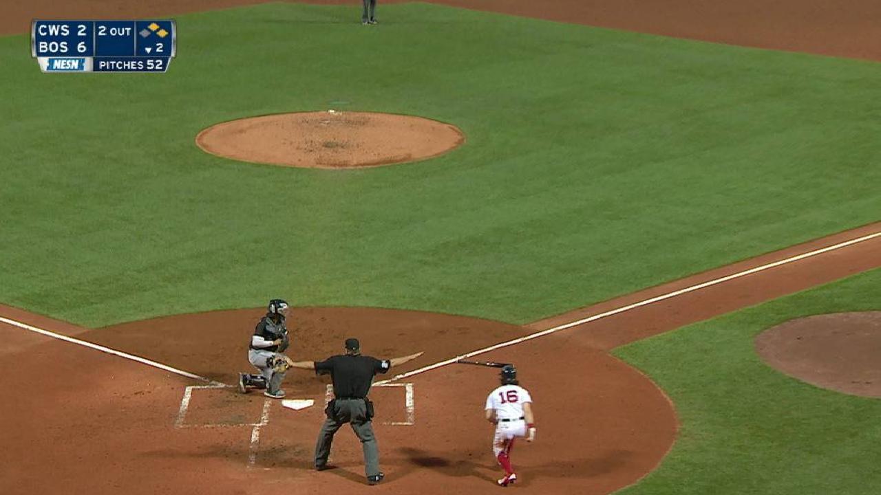 Ramirez's RBI infield single