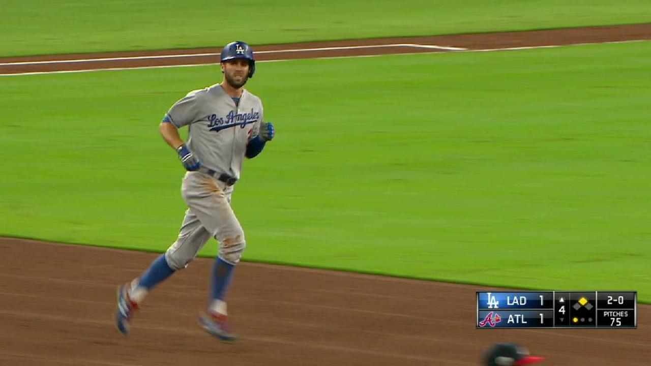 Dodgers cruise to Taylor-made win over Atlanta