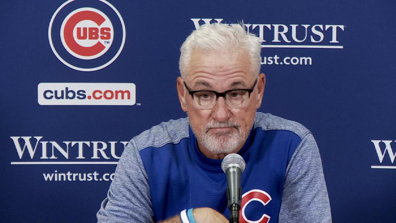 Maddon on Contreras' big day