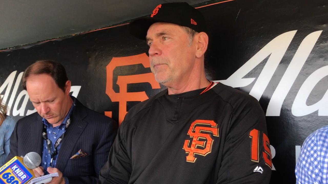 Bochy on Cain's move to bullpen