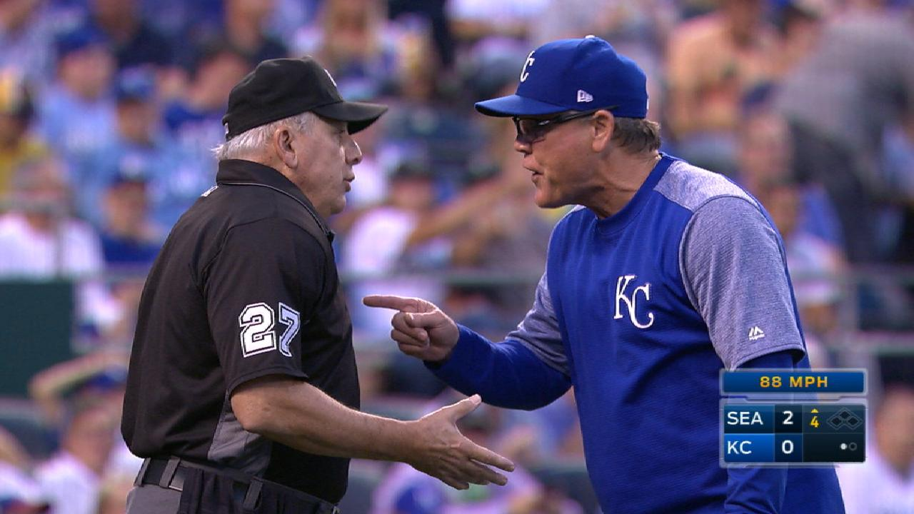 Yost gets tossed in the 4th