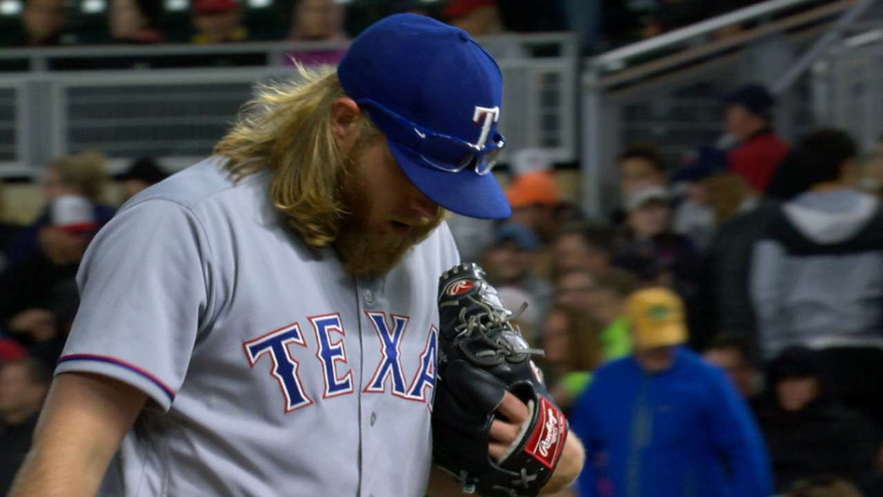 Griffin reminds Rangers what they've missed