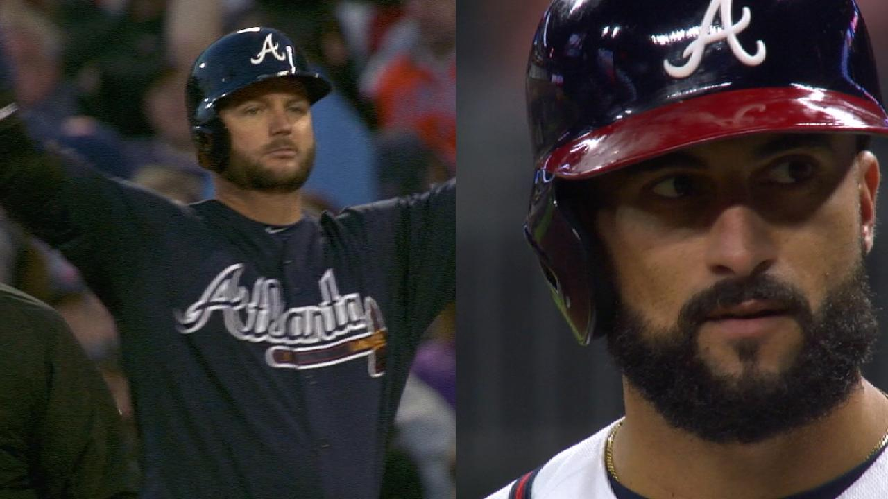 Two Braves join 2,000th hit club