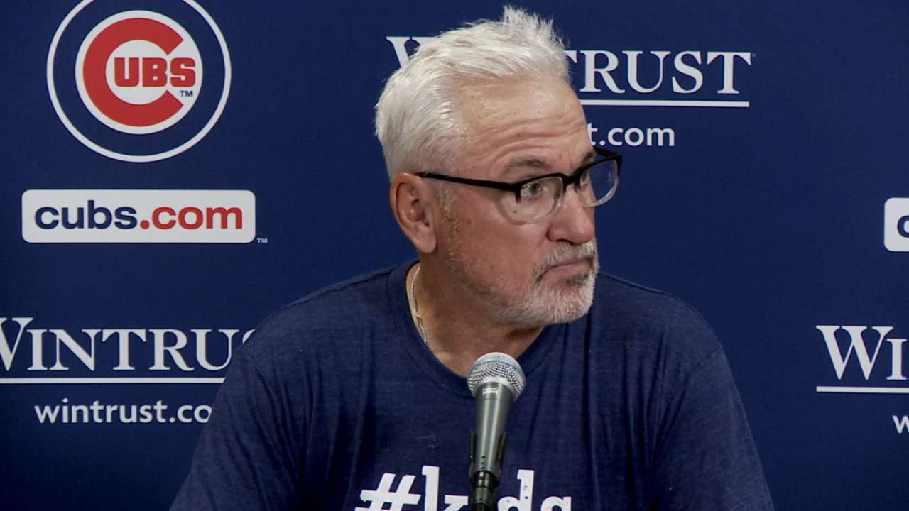 Maddon on 4-2 loss to Nationals