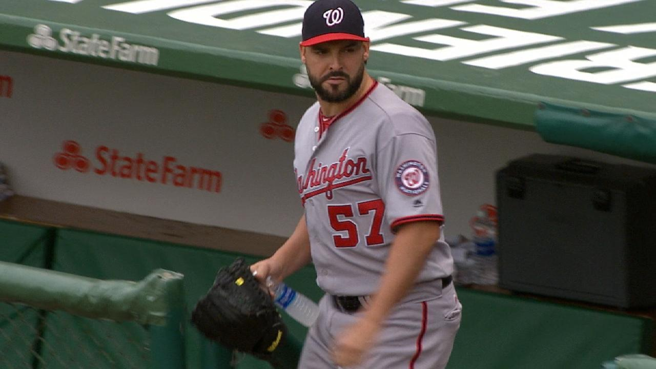 Roark's strong outing