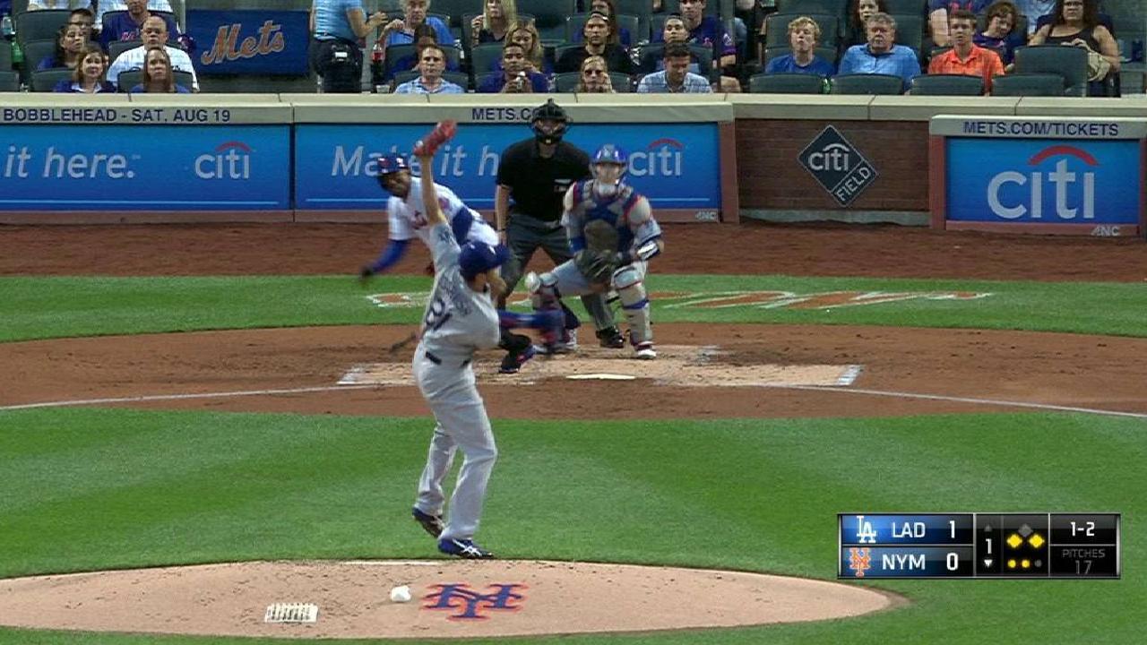 Darvish's snow-cone catch
